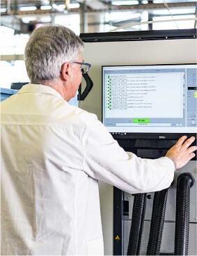 Machine testing services